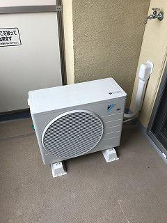 8畳用エアコン室外機
